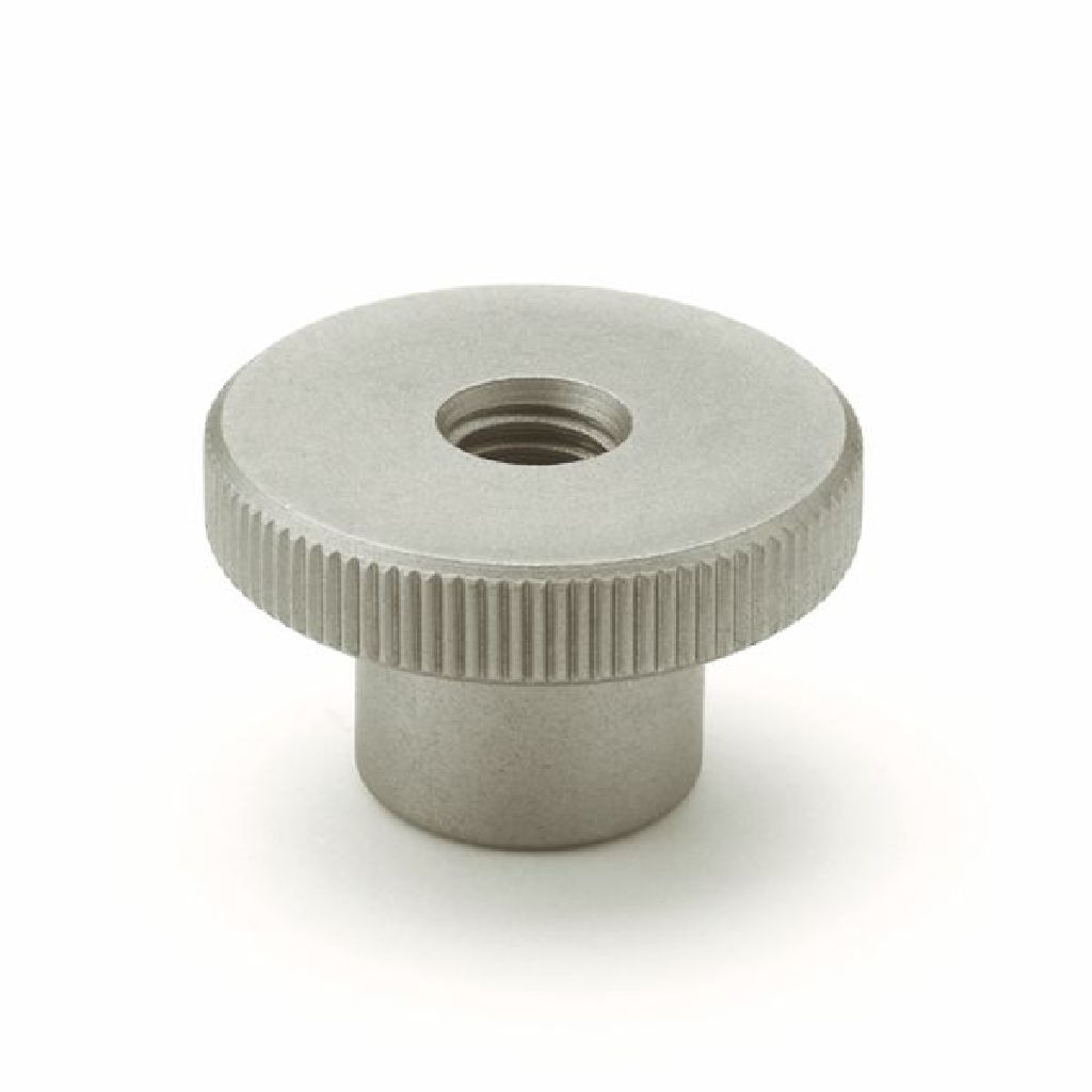 Knurled Nut DIN 466 Stainless Steel M4 to M8