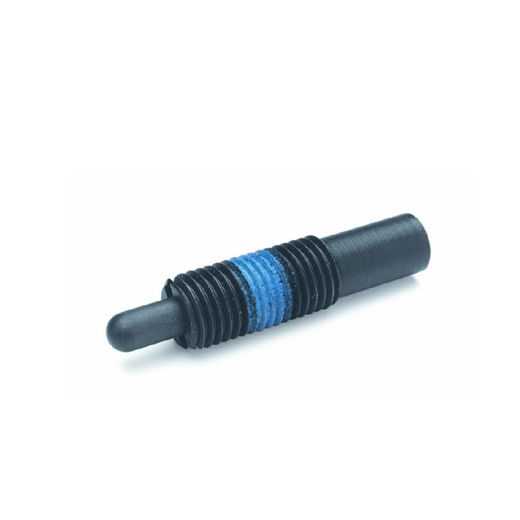 Threaded Bolt Spring Plungers Long Stroke Heavy End Force