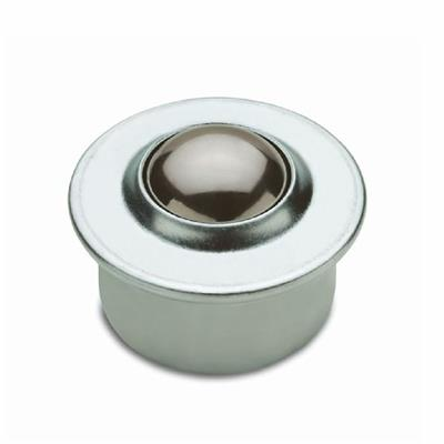 Ball Transfer Units - Cup Roller Zinc Plated