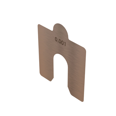 Slotted Alignment Shim Replacement Packs